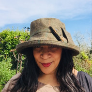 Peak and Brim Designer Hats - Clara Large Brim - direct from the designer