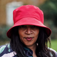 Peak and Brim Designer Hats - Emma - Plain - Rouge - Direct from teh designer