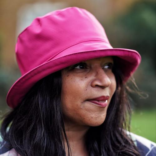 Peak and Brim Designer Hats - Emma - Plain - Cerise Pink- Direct from the designer