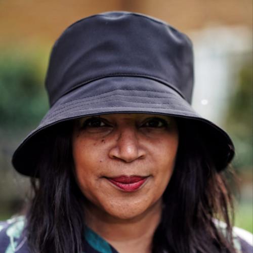 Peak and Brim Designer Hats - Emma - Plain - Black - Direct from the designer