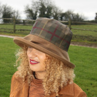 Peak and Brim Hats - Hunter in Tan- Direct from the designer