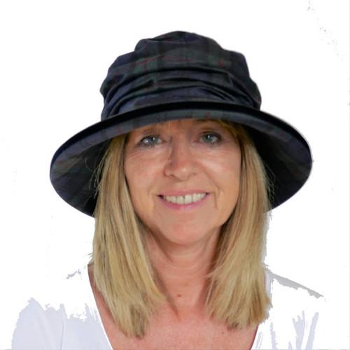 Bonnie in Navy - Direct from the designer, Peak and Brim Designer Hats