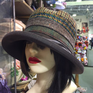 Ruth in Brown - Direct from the designer, Peak and Brim Designer Hats