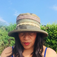 Ruth in Green - Direct from the designer, Peak and Brim Designer Hats