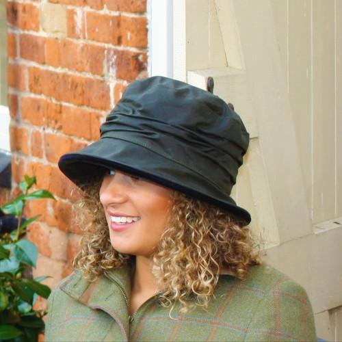 Christine in Green - Direct from the designer, Peak and Brim Designer Hats