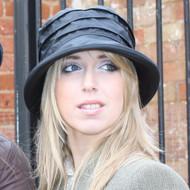 Nola Small Brim in Black - Direct from the designer, Peak and Brim Designer Hats