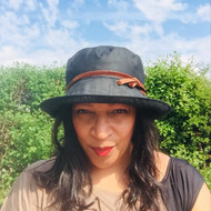 Helen (Hat in a bag) in Black - Direct from the designer, Peak and Brim Designer Hats
