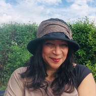 Beverley Small Brim in Black - Direct from the designer, Peak and Brim Designer Hats
