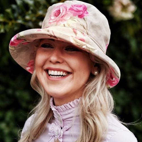 CBFA Nancy Taupe - Direct from the designer, Peak and Brim Designer Hats