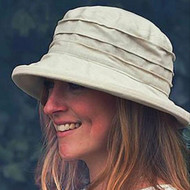 CBFA Small Brim in Beige - Direct from the designer, Peak and Brim Designer Hats