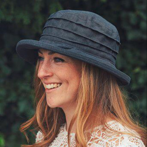 CBFA Small Brim in Black - Direct from the designer, Peak and Brim Designer Hats