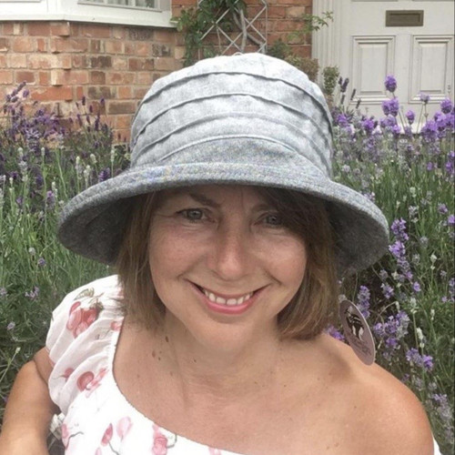 CBFA Small Brim in Grey - Direct from the designer, Peak and Brim Designer Hats