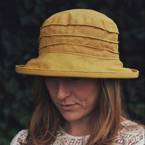 CBFA Small Brim in Mustard - Direct from the designer, Peak and Brim Designer Hats