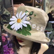 Daisy Medium Brim - Direct from the designer, Peak and Brim Designer Hats