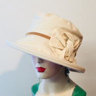 Elly Medium Brim Cotton - Direct from the designer, Peak and Brim Designer Hats
