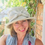 Olivia - SB (Linen) Beige , Direct from the designer, Peak and Brim Designer Hats