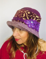 Downton Hat 020, direct from the designer Peak and Brim Hats
