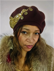 Berets - Chocolate Brown, direct from the designer Peak and Brim Hats