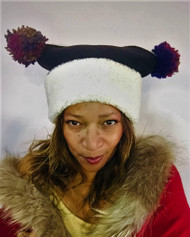 Pom Pom Fleece Hat, direct from the designer Peak and Brim Hats