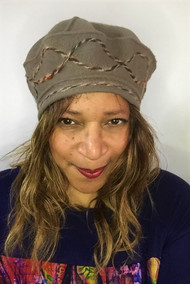 Peak and Brim Designer Hats - Berets – B016 – Pewter - Direct from the Designer