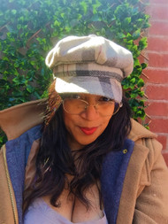 Baker Girl – Slate, direct from the designer Peak and Brim Hats