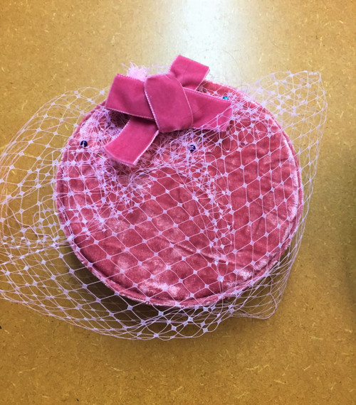 Pillbox (Bow) – 006 (Petal), Direct from the designer Peak and Brim Hats.