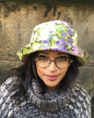 Kelly - Floral Garden direct from the designer Peak and Brim Hats
