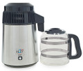 Best-in-Class Stainless Steel Water Distiller with EZ-Clean Glass Carafe