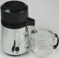 Stainless Water Distiller with Glass Collection Bottle