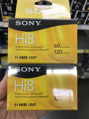 TDK Hi8 120 Minute Cassette Tape Blank Video Media Electronics prb ...