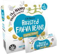 Happy Snack Roasted Fav-Va Beans - Lightly salted