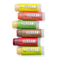 Hurraw All Natural Lip Balms - 3pk