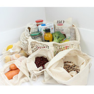 Reusable Organic Shopping Essentials 7pc - Gift Box