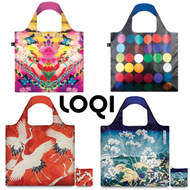 LOQI Museum Collection Reusable Bags