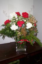 Christmas Dozen Carnations