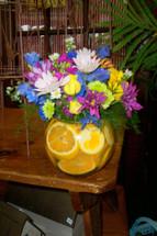 Orange, Blue and Yellow OH MY!