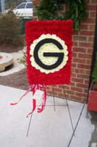 The Bloom Closet's University of Georgia Pennant