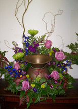The Bloom Closet's Cremation Urn Mixed