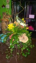 The Bloom Closet's Fisherman Themed basket