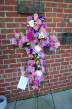 The Bloom Closet's Flower Cross
