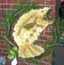 The Bloom Closet's Bass Fishermans Wreath