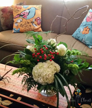 The Bloom Close's December Vase Florist in Augusta GA, Flowers in augusta, Florist in Martinez, AugustaFlorist, #floristinaugusta, #augustaweddings
