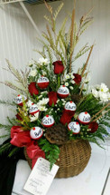 Fishing Floaters Tribute Basket at The Bloom Closet Florist