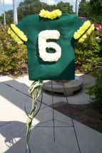 Football Jersey Standing Spray, customized to your team colors