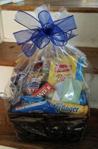 Chocolate and sweets basket