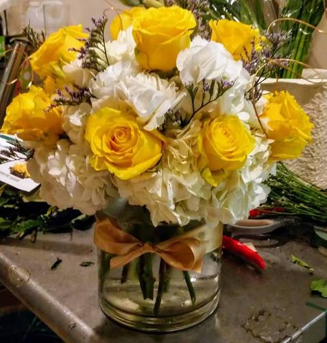 Yellow and Bright! The Bloom Closet Florist in Martinez, GA.