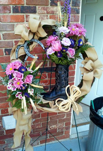 Horse Lover Wreath from The Bloom Closet FLorist in Martinez, GA
