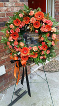 Harley Davidson Tribute Wreath.