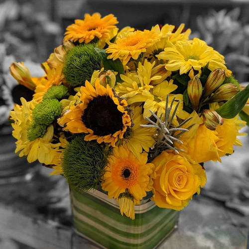 Sunshine by THe Bloom Closet Florist in Martinez GA