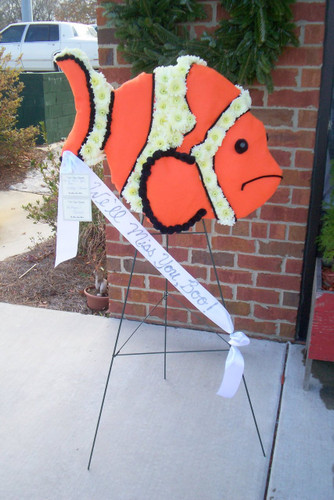 Nemo the Clown Fish is a tribute for a wonderful child.